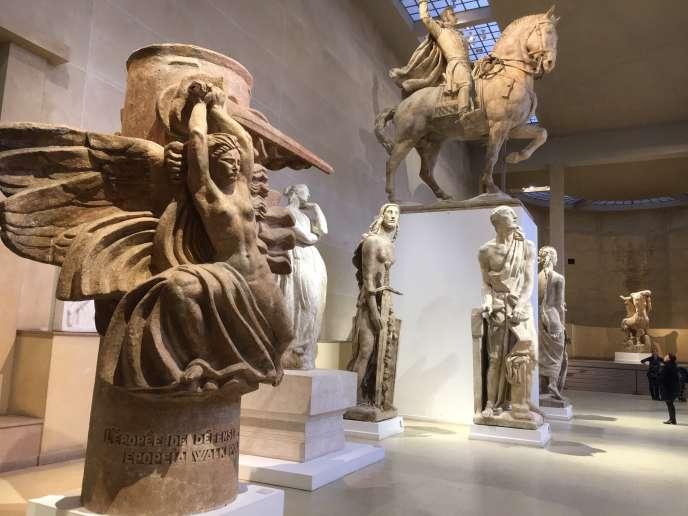 Le Grand Hall des plâtres, au Musée Bourdelle.