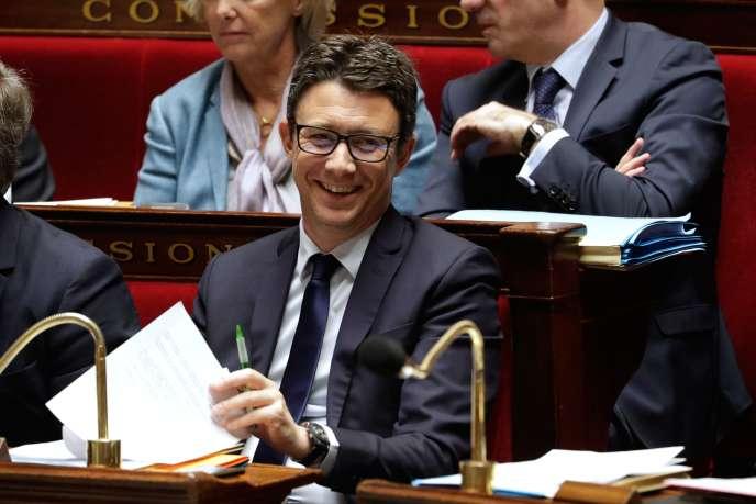 Le porte-parole du gouvernement, Benjamin Griveaux, à l'Assemblée nationale, le 16 janvier.