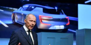 Thierry Bolloré (ici à Genève, en mars 2018) a été nommé directeur général délégué de Renault à la suite de l'arrestation de Carlos Ghosn au Japon, le 19 novembre 2018.