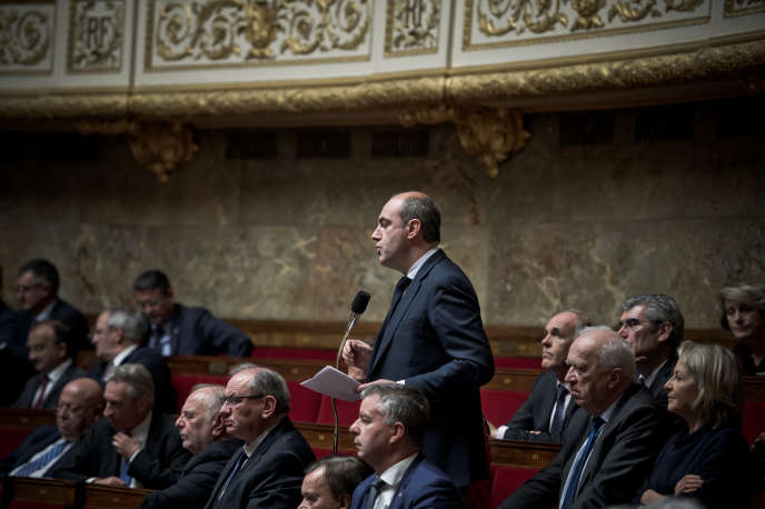 Le député (LR) d'Eure-et-Loir, Olivier Marleix, à l'Assemblée nationale, le 7 décembre 2016.