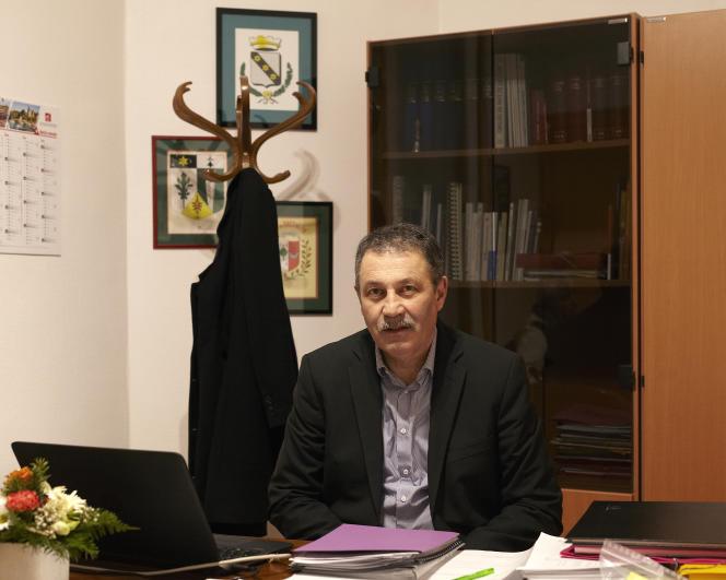 Jean-Paul Naud, maire de Notre-Dame-des-Landes, le 15 janvier.