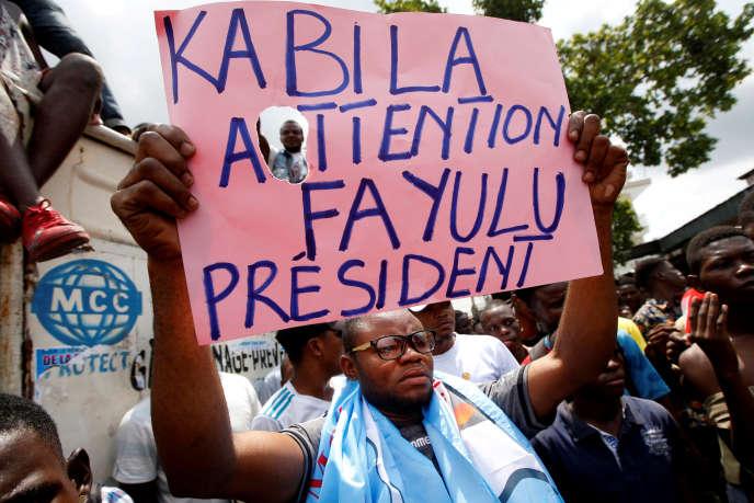 Présidentielle en RDC: le camp de Martin Fayulu plaide pour un recomptage des voix