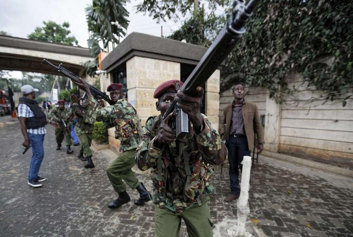La capitale kényane à nouveau frappée par le terrorisme