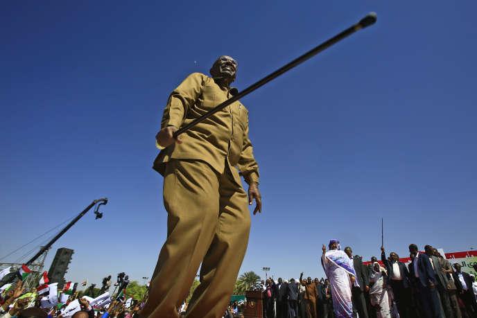 Le président soudanais, Omar Al-Bachir, à Khartoum, le 9janvier 2019.