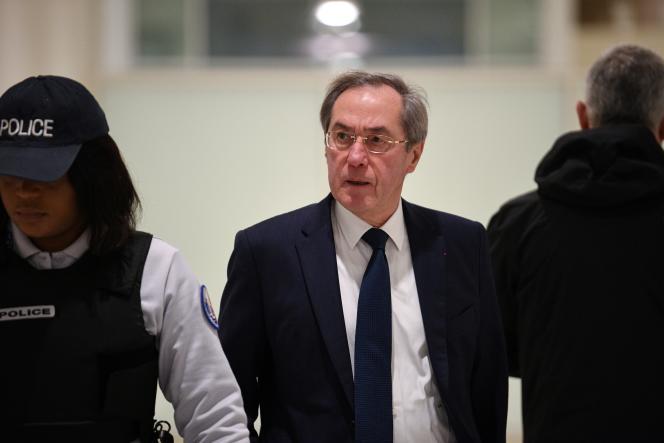 L'ancien ministre de l'intérieur, Claude Guéant, lors de son pourvoi en cassation à Paris le 5 décembre 2018.