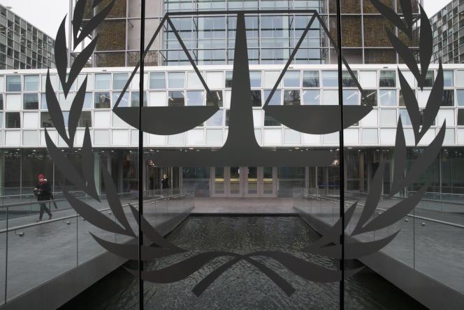 Devant la CPI, à La Haye, le 16 janvier.