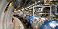 L'accélérateur de particules LHC, à la frontière entre la Suisse et la Fance, le 23 juillet.