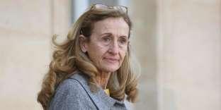 Nicole Belloubet, la ministre de la justice, à l'Elysée, le 16 janvier.