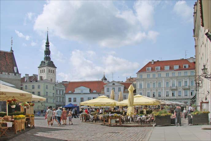 A Tallinn, dans la « ville basse », la rue Pikk est incontournable.