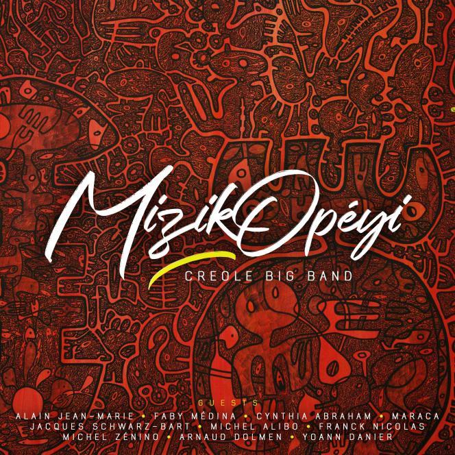 Pochette de l'album« Creole Big Band», de MizikOpéyi.
