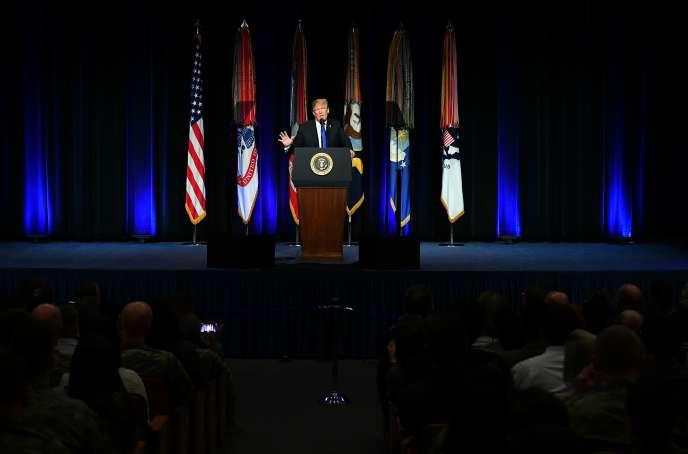 Donald Trump, le 17 janvier à Washington.