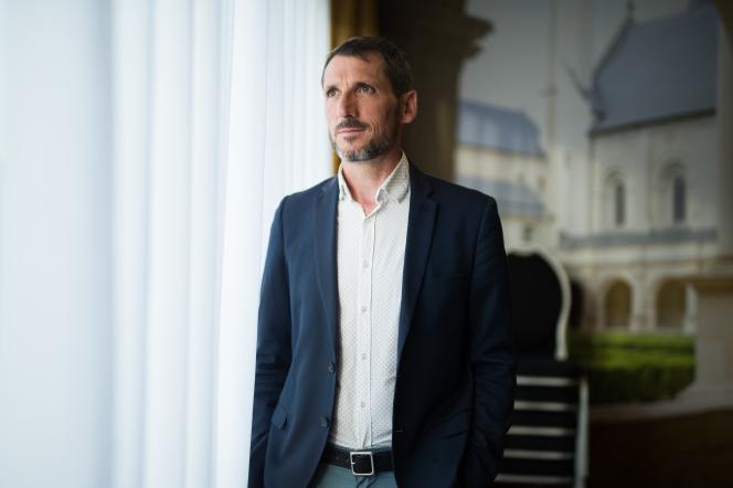 Le député Matthieu Orphelin, ici en juin 2017 à angers, annonce qu'il quitte le groupe La République en marche (LRM), le 6 février 2019.