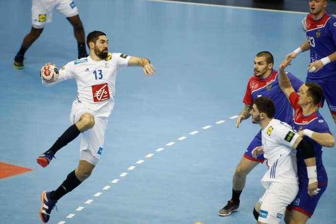S'il n'a pas marqué face aux Russes, Nikola Karabatic a fait son retour sous le maillot bleu.