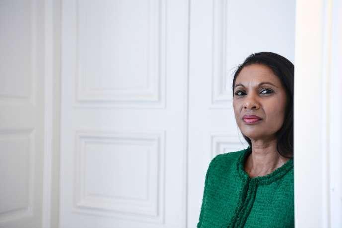 Gina Miller, à Paris, le 17 janvier 2019.