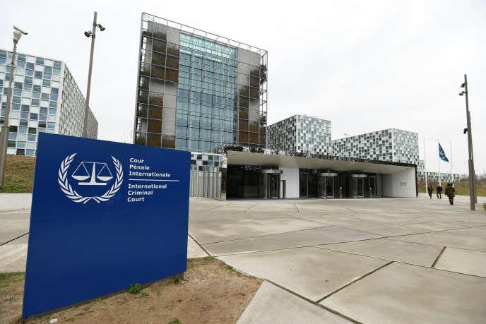 La Cour pénale internationale de La Haye, en janvier 2019.