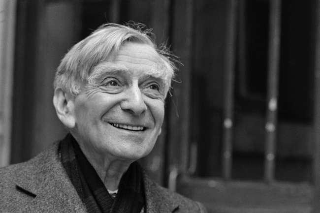 Vladimir Jankélévitch, le 9janvier 1980.