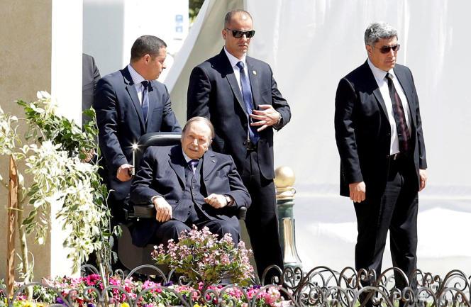 Le président algérien Abdelaziz Bouteflika à Alger, le 9 avril 2018.