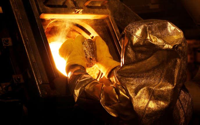 Mine d'or de Newmont Mining Corporation près d'Elko, au Nevada, le 21 mai 2014.
