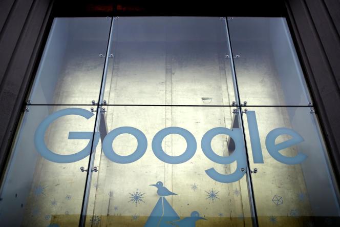 Les bureaux de Google à New York, le 18 janvier.
