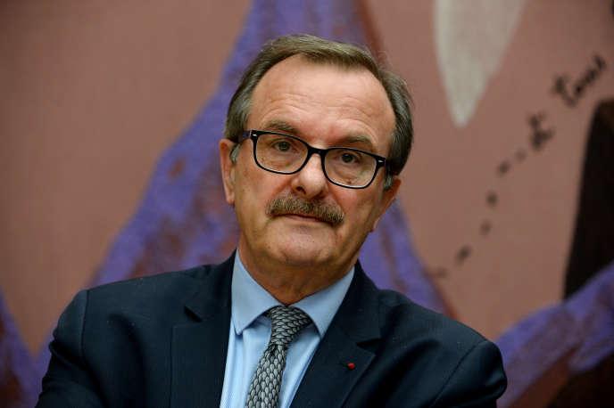 Jean-Francois Carenco, le président de la Commission de régulation de l'énergie, le 7 février.