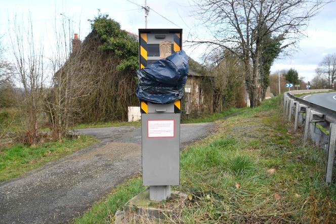 A Brulatte (Mayenne), le 8 janvier.