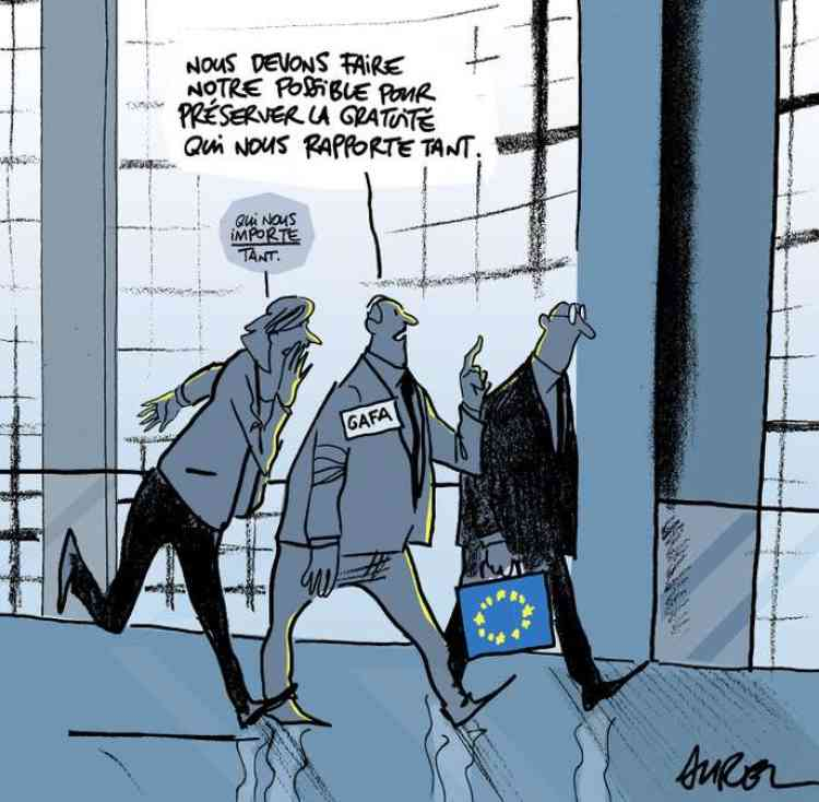 Les deux camps, géants d'Internet, d'un côté, éditeurs de presse et créateurs, de l'autre, sont chauffés à blanc, à quelques jours du vote décisif du 12septembre au Parlement européen.