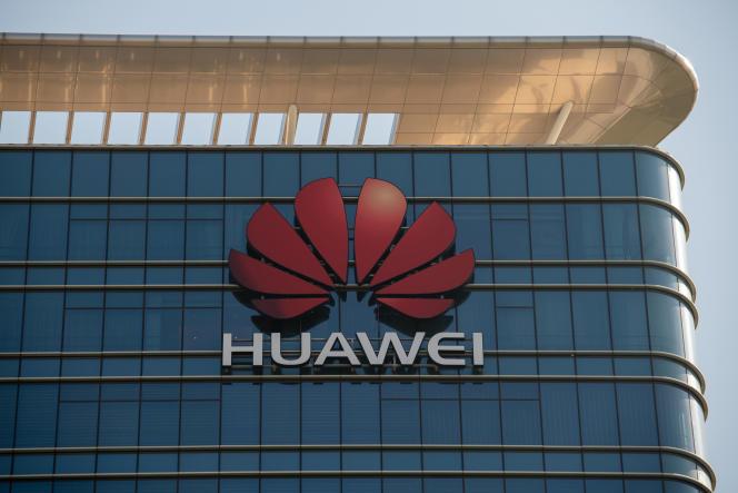 Au siège de Huawei, à Dongguan (province chinoise du Guangdong), en décembre 2018.