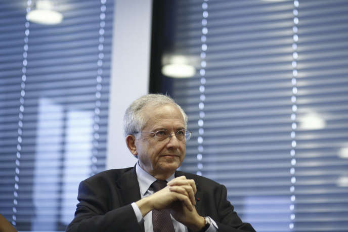 Olivier Schrameck, president du Conseil supérieur de l'audiovisuel, en novembre 2013, à Paris.