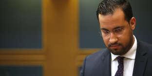 Alexandre Benalla lors de son audition au Sénat, le 19 septembre 2018.