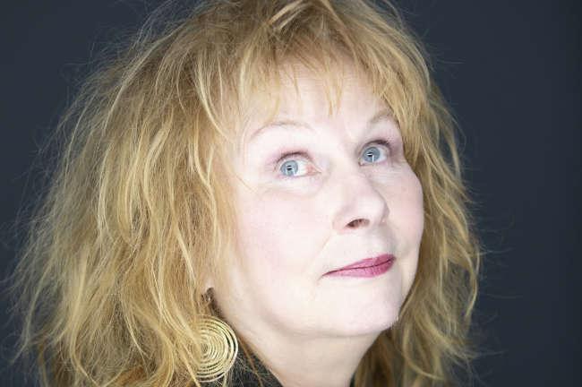 Yolande Moreau, à Paris, le 14 Janvier