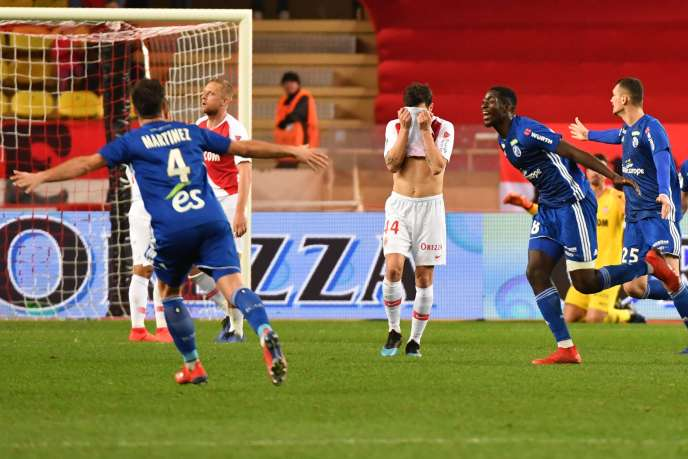 Monaco took a lesson against Strasbourg, and remains in 19th place.