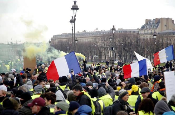 A Paris, samedi 19 janvier.