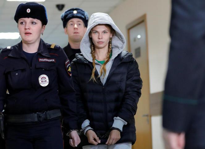 Anastasia Vachoukevitch à Moscou, le 19 janvier 2019.