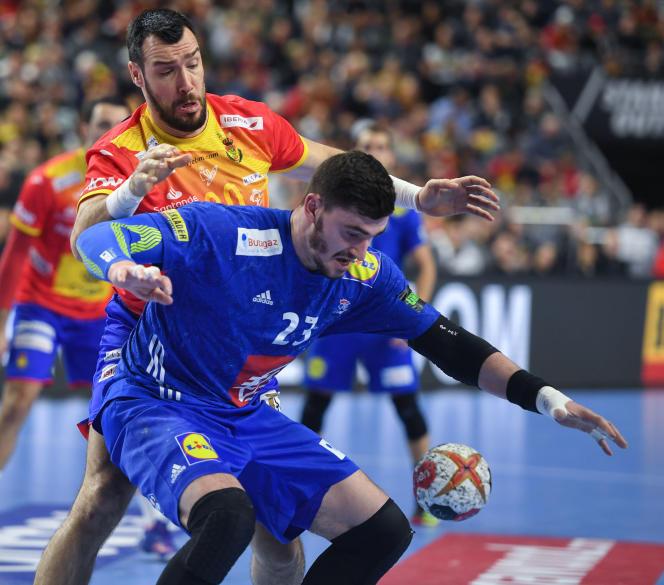 Face à l'Espagne, le joueur de handball Ludovic Fabregas a réalisé un grand match, samedi 19 janvier.