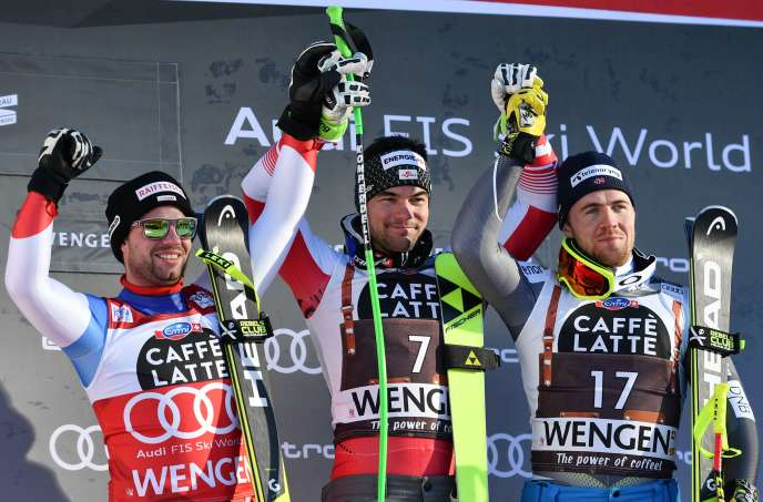Austria's Vincent Kriechmayr won the Wengen downhill on Saturday (January 19th).