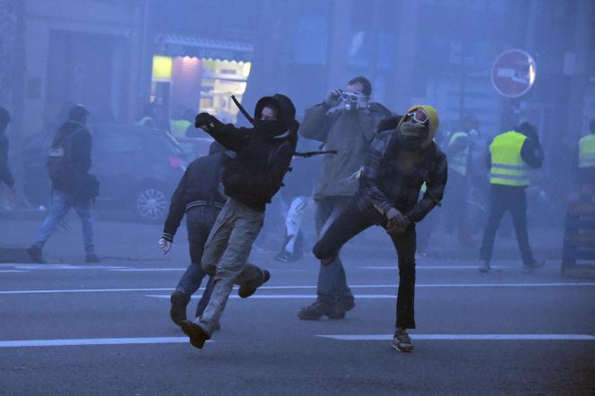 Comme la plupart des derniers samedi de mobilisation, la manifestation toulousaine, entamée dans le calme, a dégénéré avec des heurts, samedi 19 janvier.