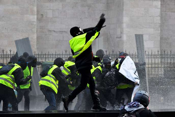 A Paris, le 19 janvier.