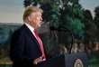 Donald Trump lors de sa déclaration sur le« shutdown», à la Maison Blanche, le 19 janvier.