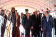 L'émir du Qatar, Cheikh Tamim Ben Hamad Al Thani, le 20 janvier à Beyrouth, au sommùet de la Ligue arabe.