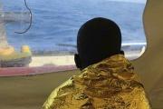 Un migrant secouru en Méditerranée par le navire de sauvetage «Sea-Watch», le 20 janvier 2019.