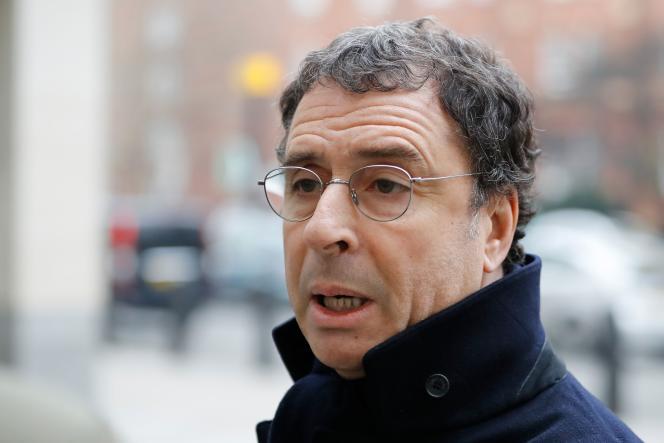 Alexandre Djouhri, le 20 janvier, à Londres.