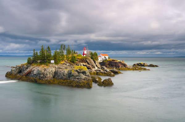 L'île Campobello, dans le Nouveau-Brunswick.