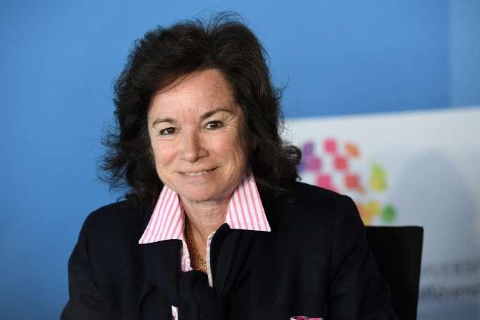 Sylvie Pierre-Brossolette, membre du Conseil supérieur de l'audiovisuel en charge du pluralisme.