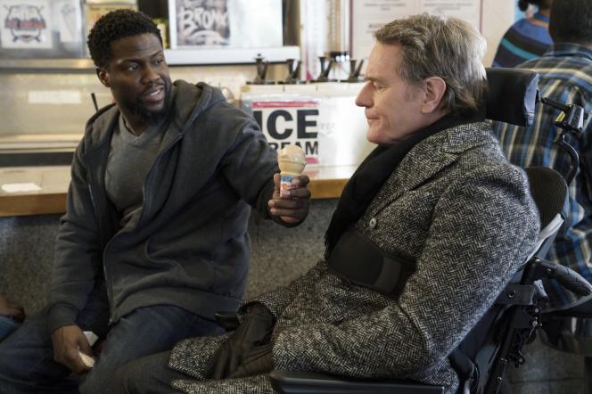 Kevin Hart etBryan Cranston dans« The Upside», de Neil Burger.