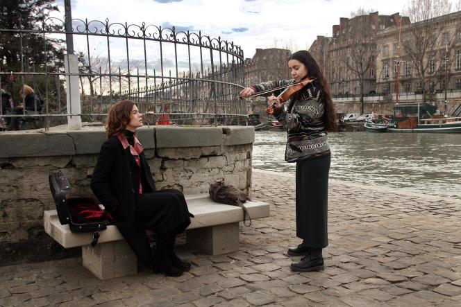 Les actrices et violonistes Marie-Sophie Ferdane et Lina El Arabi.