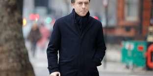L'homme d'affaires Alexandre Djouhri, le 20 janvier, devant la Westminster Magistrates' court, à Londres.