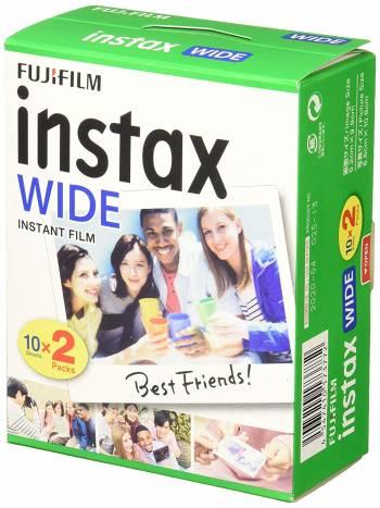 Les films Fujifilm Instax Wide
