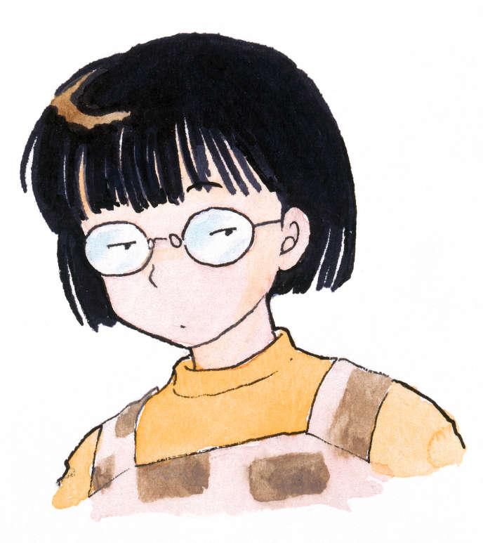 Un autoportrait deRumiko Takahashi.