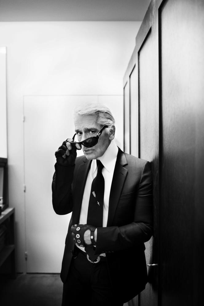 Karl Lagerfeld, en 2008.