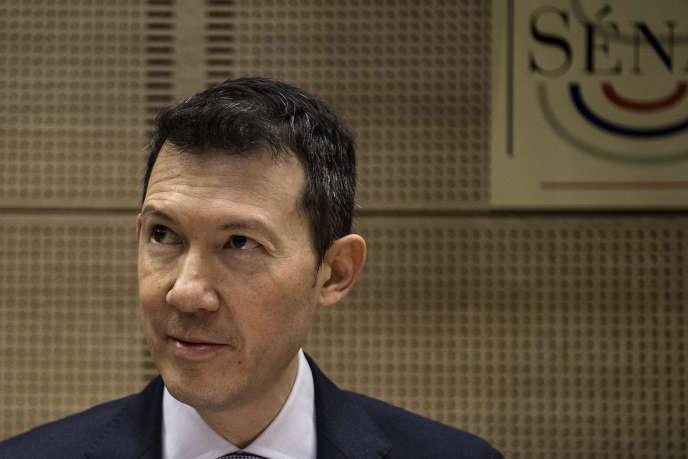 Le directeur général d'Air France-KLM, Benjamin Smith, à Paris, le 16 janvier.